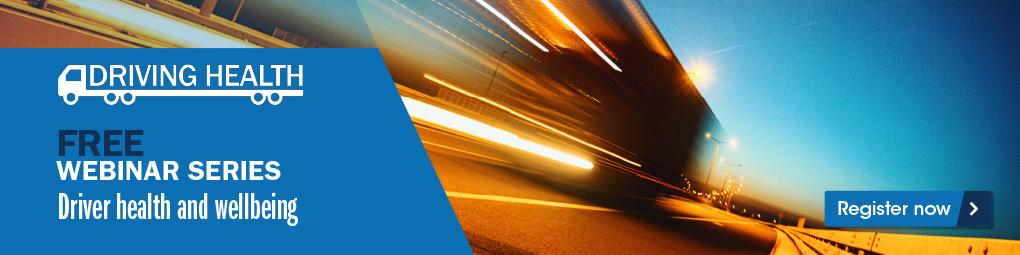 Free webinar series aims to improve truck driver health